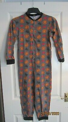 Manchester United Pajama One Piece Size 11 To 12 Years - Check Out My Other List