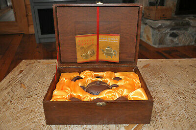 Authentic Ceremonial Geisha Tea Set Hand Carried from China