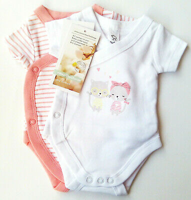 2x Wickel Body Gr.42 Baby Club NEU 100/% Baumwolle bio koala set frühchen