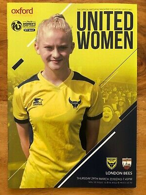 Oxford United Women v London Bees - WSL2 Programme - Played 29/03/18