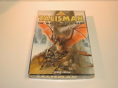 Games Workshop Talisman The Magical Quest (2nd Edition) Box Complete