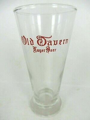 Vintage 1970s Pabst Blue Ribbon Beer 5¼ inch ACL Shell Glass