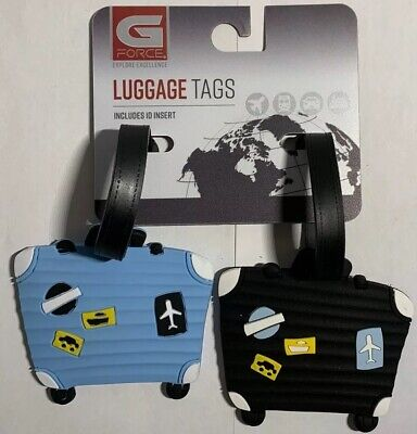 Lot of 2   Suit Case LUGGAGE TAGS   NEW!!