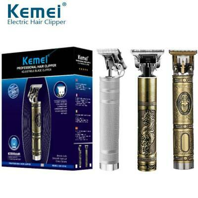 KEMEI Electric Pro T-outliner Cordless Trimmer Wireless Portable Hair Clipper