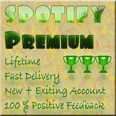 🌟🌟 SPOTIFY Premium LIFETIME ACCOUNT 🔥 YEAR WARRANTY🔥  FAST DELIVERY 🌟🌟