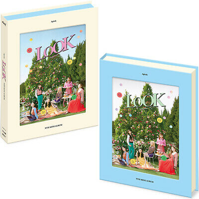 APINK LOOK 9th Mini Album CD+POSTER+Photo+Photo Book+3 Card+Stand+Sticker A PINK
