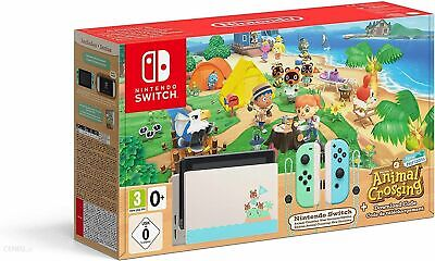 Nintendo Switch HAC-001(-01) Animal Crossing: New Horizons Edition - 32GB -...