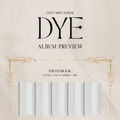 (PreOrder) GOT7 - [ DYE ] Mini Album (NO PHOTOCARD AND MIRROR CARD)