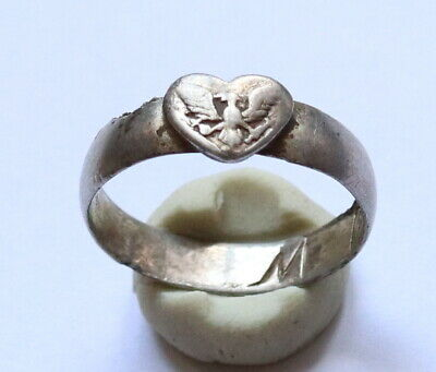 Authentic Medieval Silver Ring VERY RARE