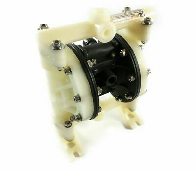 Double Diaphragm Air Pump Chemical Industrial Polypropylene 3/8 NPT Inlet / Outl