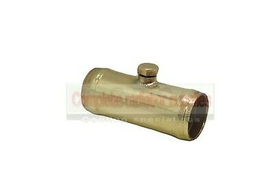 32 mm Brass Radiator Hose Connector/Joiner with Bleed