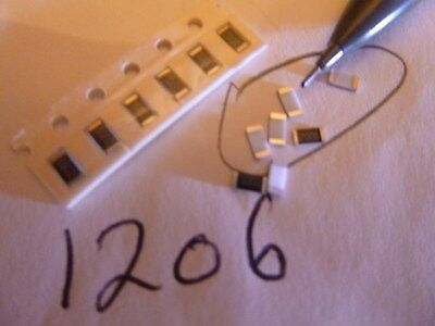 15 Ohm 0603 Size 1/% Surface Mount Resistor 100 Pieces US Seller