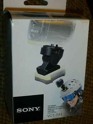 Sony VCT-TA1  Camera Tilting Angle Mount for Sony Action Cam Holds Most Cameras