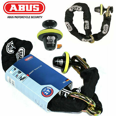 Abus Granit Victory X-Plus 68 Full Motorcycle Disc Lock Thatcham Cat 3 Security