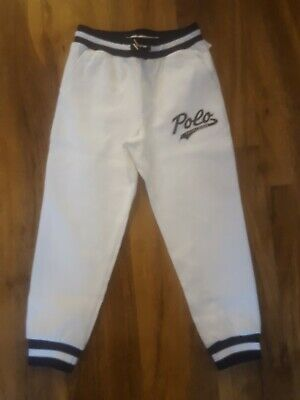 BNWT Ralph Lauren Polo Performance Joggers tracksuit Jogging Bottoms Age 6