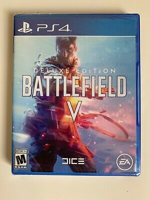 (((BRAND NEW!!))) PS4 Sony PlayStation 4 Battlefield V Deluxe Edition - PS4 Game