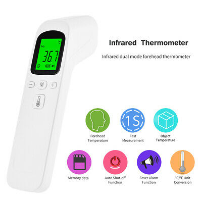 Forehead Ear Thermometer Digital Infrared Body Thermometer for Baby Adults Kids