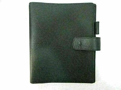 Authentic Excellent Louis Vuitton Taiga Agenda GM R20232 Day Planner Cover 80219