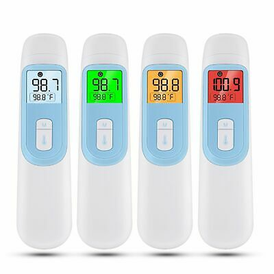 1*Medical Digital Non-contact IR Forehead Ear Baby Body Thermometer Temperature