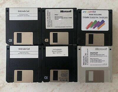 """MF-2HD 3.5"""" inch 1.44MB Floppy Disk, 114 Disks Mixed Brands, Used, Not Reformat."""