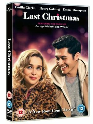 Last Christmas DVD New & Sealed