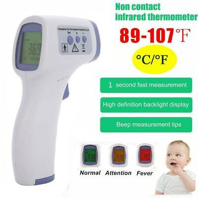 Medical Non-Contact Thermometer Gun LCD Digital Forehead Fever Adult Infrared
