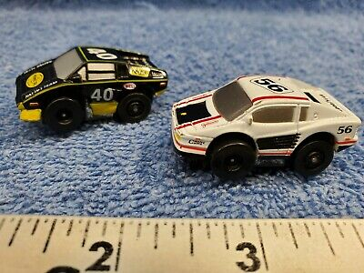 1990 Galoob Micro Machines 1//87th Shell ThunderBird Slot Car NOS MIB