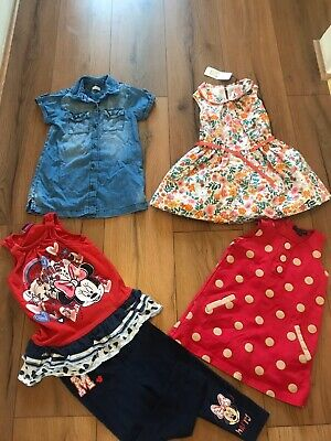 Girls Summer Clothes Bundle Age 2-3 Years