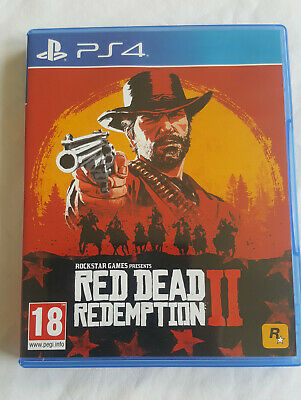 Red Dead Redemption 2 II - PS4 - Playstation very good condition