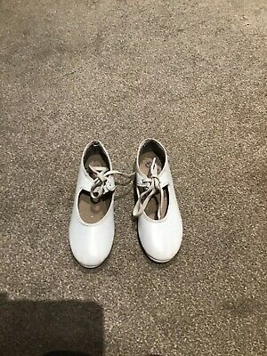 White tap shoes size 12