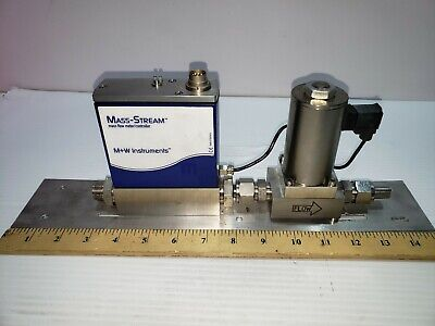 M+W Instruments D-6363-DR/004AI  Mass Flow Meter NEW NEVER INSTALLED NO BOX
