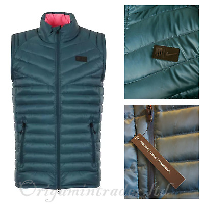 Nike Atletico Madrid Nike Authentic Down Vest `Space Blue` 867931-429 Size M