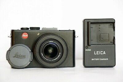 Leica D-Lux 6 digital camera 1.4-2.3/4.7-17.7 ASPH lens cap charger fully workin