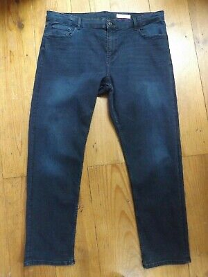Marks & Spencer High Waist 'The Sienna' Straight Jeans...20...Next Day Postage