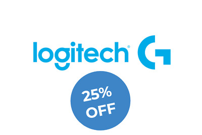 Logitech G 25% Discount Code- US online only- Fast Delivery