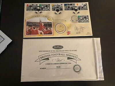 Alan Ball Hand Signed - World Cup 1966