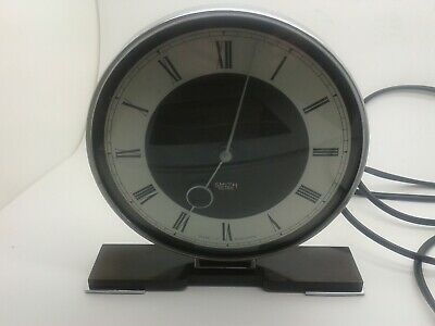 Superb Art Deco 1930's  Smiths Sectric Electric Bakelite Mantle Clock -Rewired