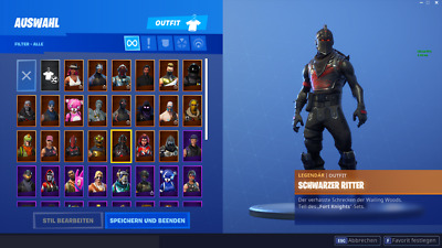 FORTNITE Random account (10-80 skins) | Black Knight and others