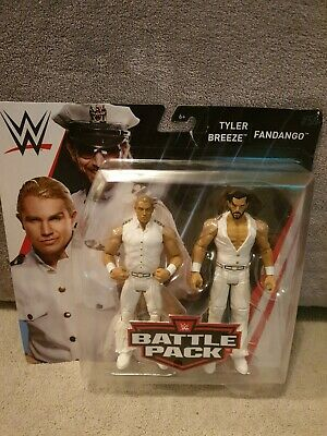 WWF WWE Elite Mattel Basic Battle Pack Wrestling Figures Tyler Breeze Fandango