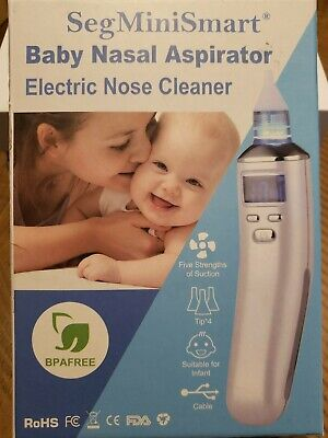 Electric Baby Nasal Aspirator Nose Cleaner and Snot Sucker - Adjustable...