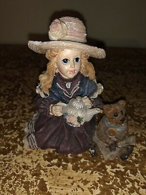Boyds Bear Yesterdays Child whitney with wilson tea party 03523