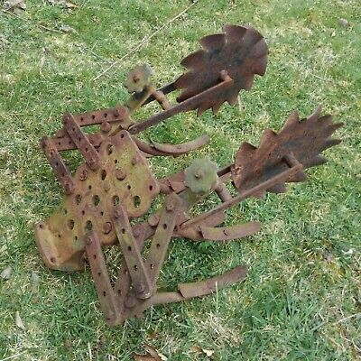 Gravely Walk Behind Lawn Tractor Tool Holder w/ Cultivator