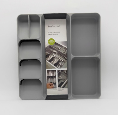 IKEA Kitchen Cutlery Holder Storage Rack Tray Plastic Partition High Quality