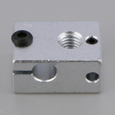 V6 Aluminum Heater Block M6 Nozzle Specialized for MK7 MK8 3D Printer Extruder