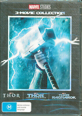 Thor 3 Movie Collection DVD NEW Region 4