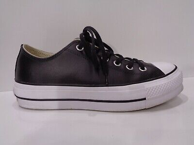 Converse Chuck Taylor All Star Lift Clean Ox Low Sneaker 561681C. Size 39 US 8