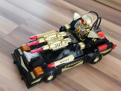Spielzeug SCI - FICTION - Mond Auto - MACHINE GUN 2001-COSMIC - MISSLE-Batterie.