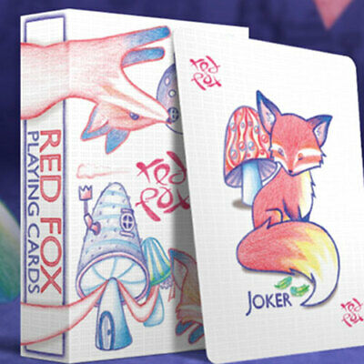 Mazzo di carte Red Fox Playing Cards (Purple)