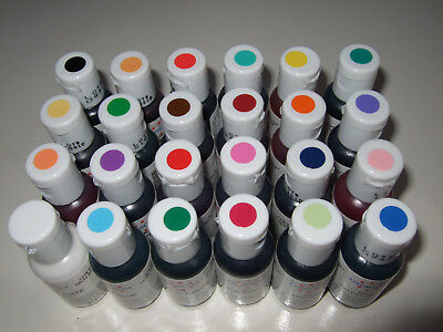 AmeriColor Gel coloring dye Passed Best Before Date12 colors ,good Craft project