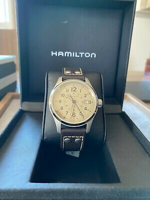 Hamilton H70595523 KHAKI FIELD AUTOMATIC WATCH 40mm New Box Papers